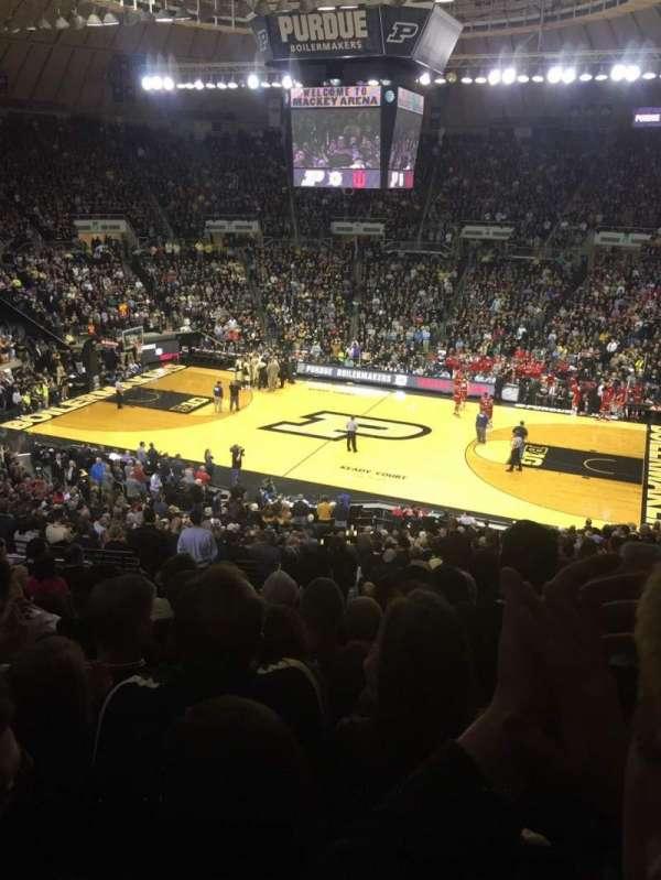 Mackey Arena, secção: 108