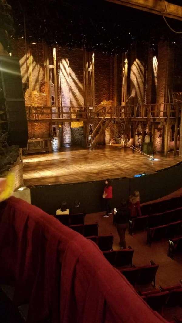 CIBC Theatre, secção: Dress Circle Box 1, fila: BX1, lugar: 205