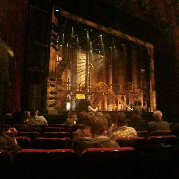 The Fabulous Fox Theatre (St. Louis), secção: ORCHB, fila: G, lugar: 17