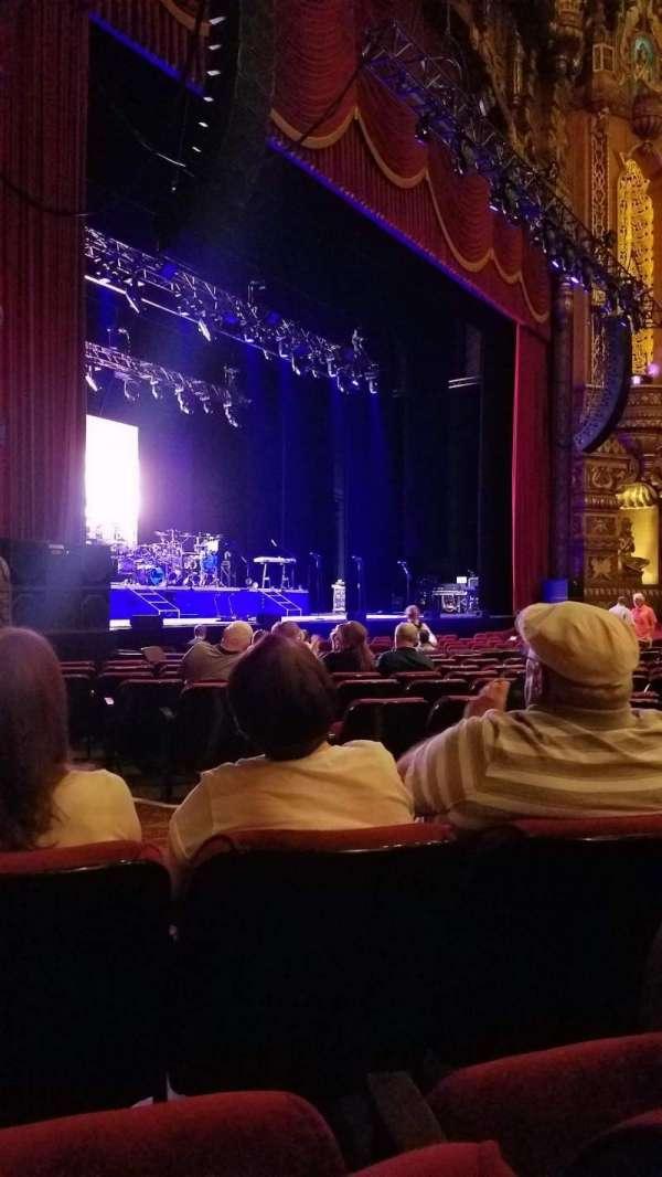 The Fabulous Fox Theatre (St. Louis), secção: Orchestra 1, fila: L, lugar: 43