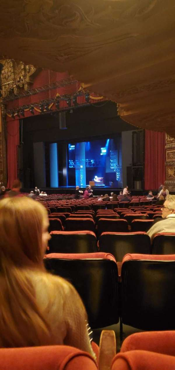 The Fabulous Fox Theatre (St. Louis), secção: ORCH 6, fila: z, lugar: 48