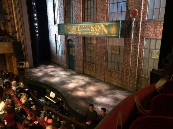 Al Hirschfeld Theatre, secção: RIGHT BOX, fila: C, lugar: 9