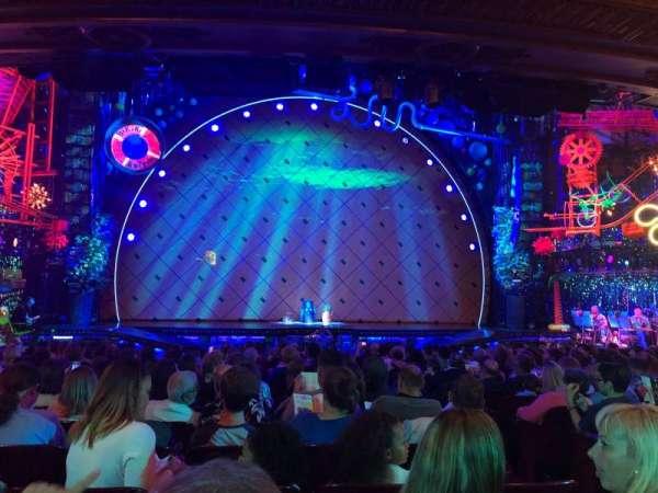 Palace Theatre (Broadway), secção: Orchestra, fila: R, lugar: 103