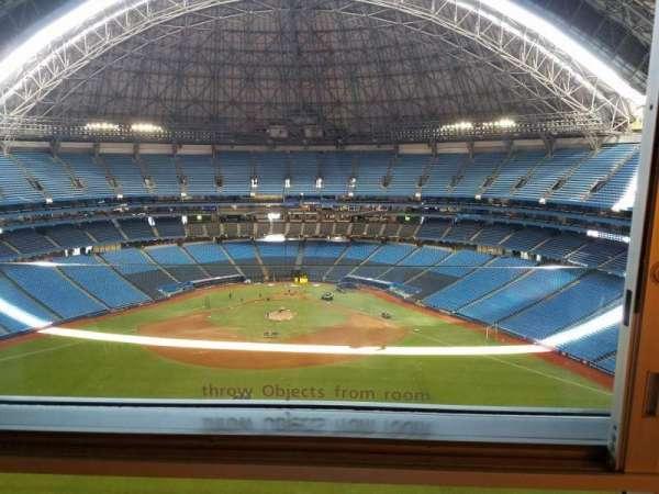 Rogers Centre, secção: Toronto Marriott City Centre, fila: 442, lugar: 1