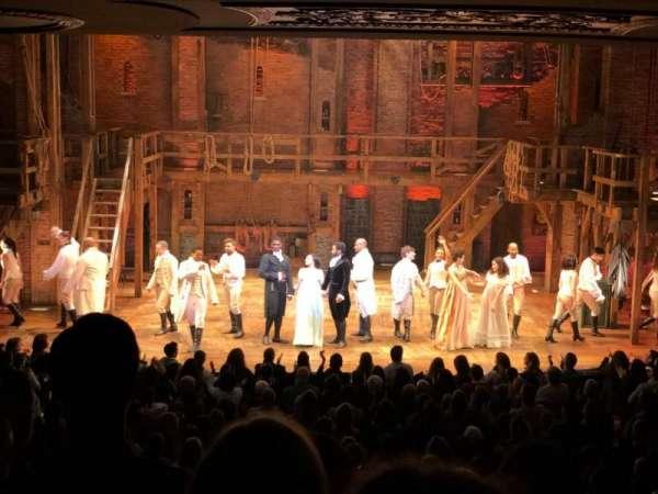 Richard Rodgers Theatre, secção: Orchestra C, fila: S, lugar: 108