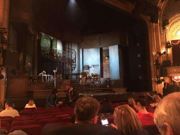 Walter Kerr Theatre, secção: Orchestra L, fila: M, lugar: 11