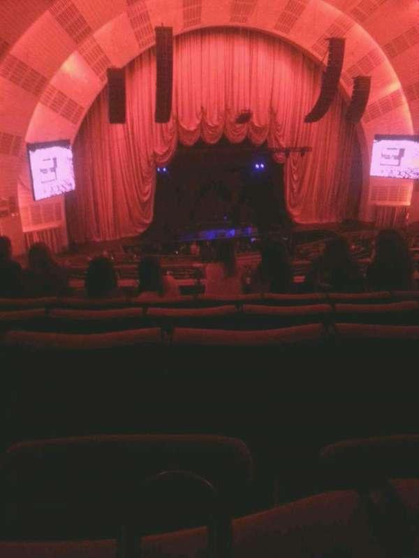 Radio City Music Hall, secção: 2nd mezzanine 6, fila: E, lugar: 606