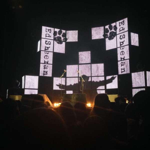 Madison Square Garden, secção: Floor B, fila: 4, lugar: 14