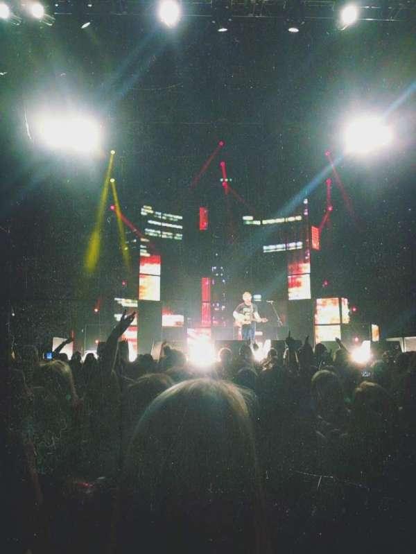 Madison Square Garden, secção: Floor B, fila: 10, lugar: 6