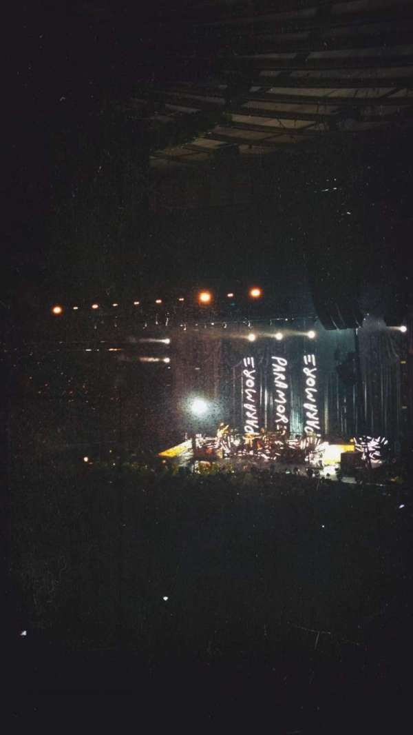 Madison Square Garden, secção: 105, fila: 16, lugar: 19