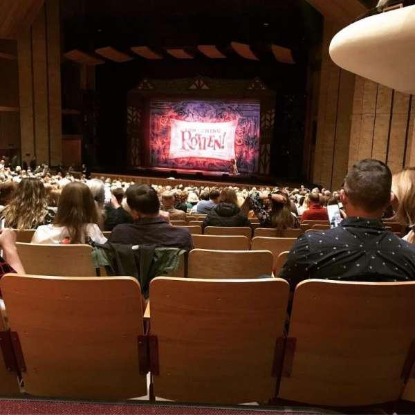 Velma V. Morrison Center for the Performing Arts, secção: FLR 5, fila: Z, lugar: 1