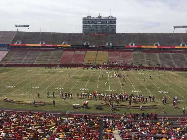Jack Trice Stadium, secção: W, fila: 3, lugar: 34