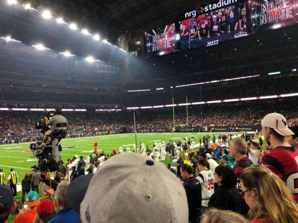 NRG Stadium, secção: 129, fila: F, lugar: 7-8
