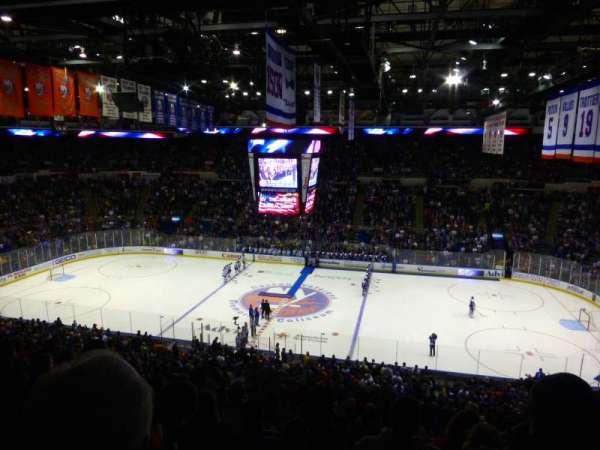 Old Nassau Veterans Memorial Coliseum, secção: 302, fila: J, lugar: 5