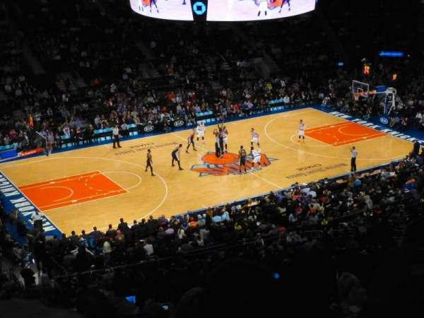 Madison Square Garden, secção: 209, fila: 10, lugar: 1