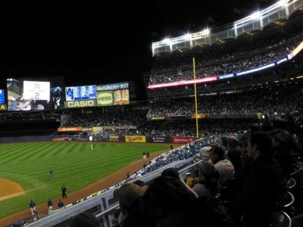 Yankee Stadium, secção: 216, fila: 3, lugar: 13