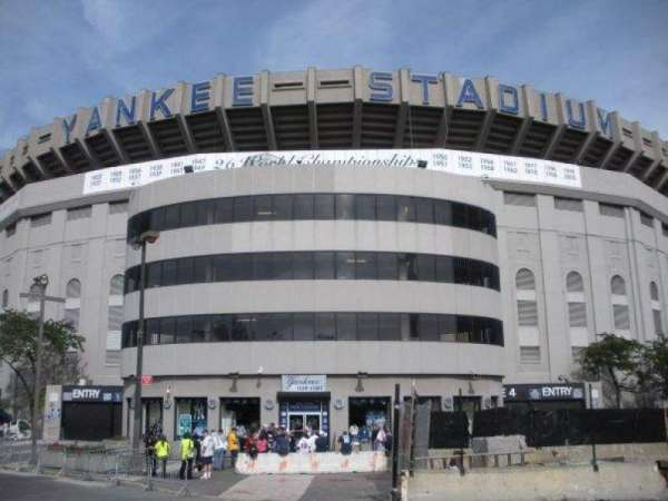 Old Yankee Stadium, secção: Gate 4