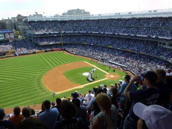 Yankee Stadium, secção: 426, fila: 10, lugar: 10
