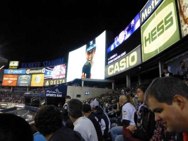 Yankee Stadium, secção: 203, fila: 8