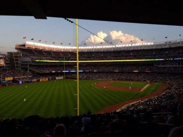 Yankee Stadium, secção: 232B, fila: 19, lugar: 6