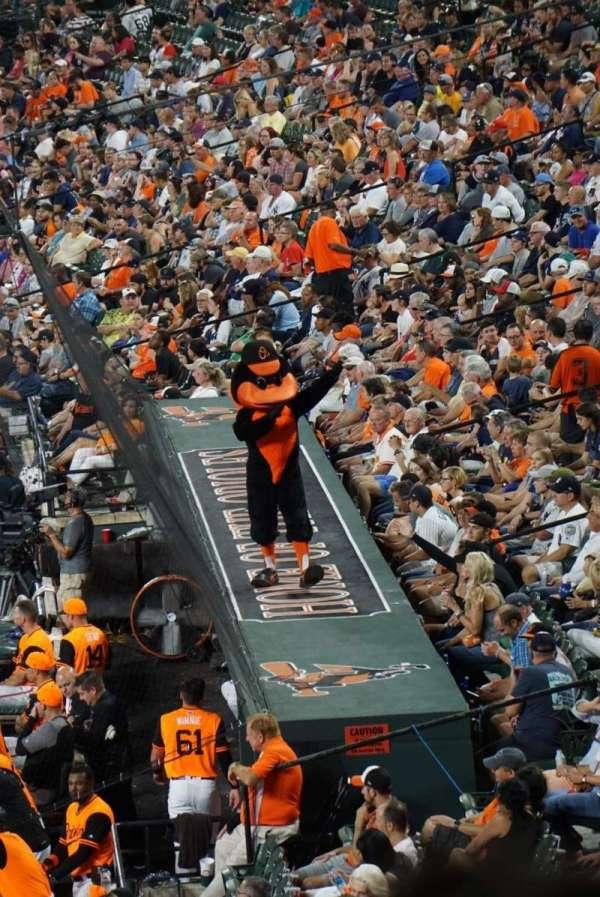 Oriole Park at Camden Yards, secção: 39, fila: 6, lugar: 11