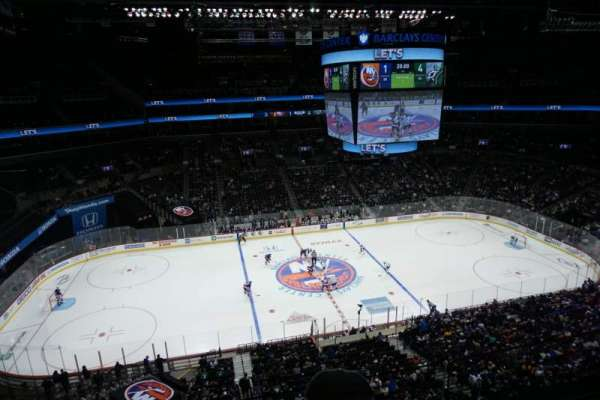 Barclays Center, secção: 226, fila: 2, lugar: 8