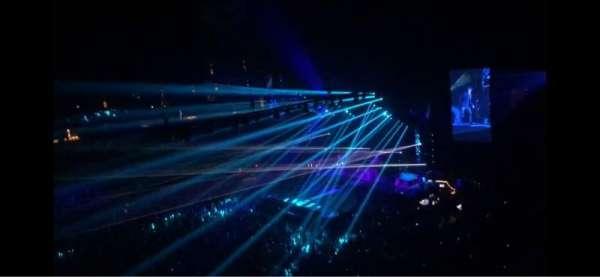 Gila River Arena, secção: 216, fila: A, lugar: 11
