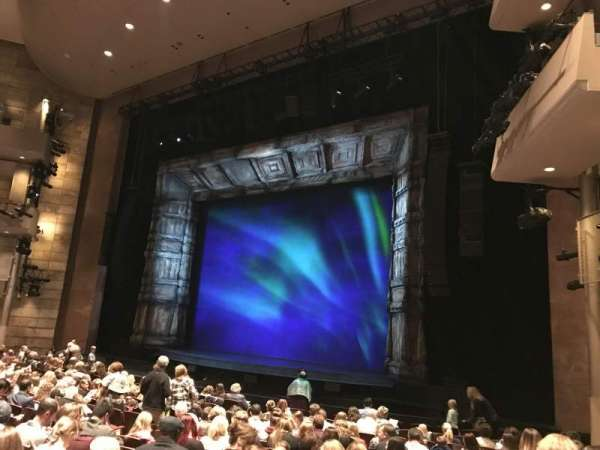 The Buell Theatre, secção: Orchestra-A-Mid, fila: N, lugar: 8