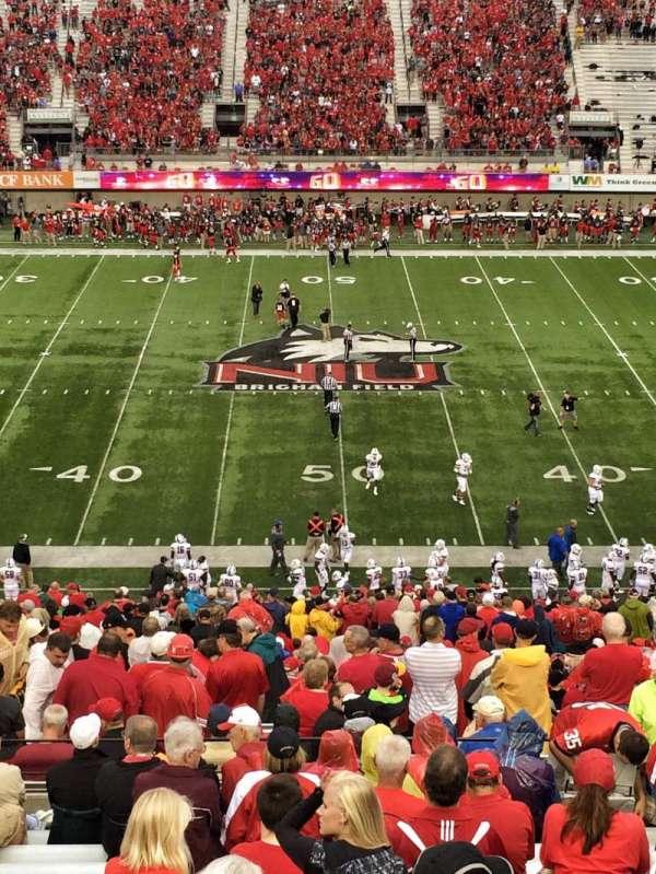 Huskie Stadium, secção: D, fila: 60, lugar: 20
