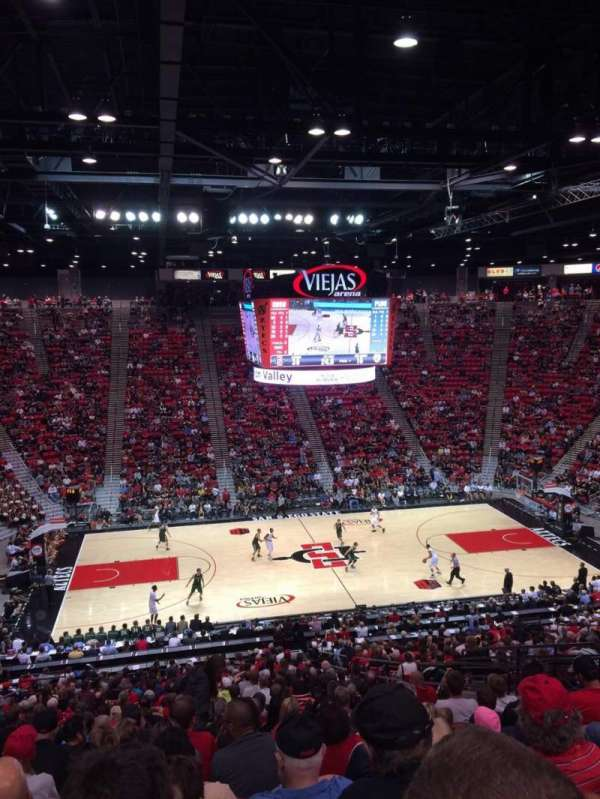 Viejas Arena, secção: P, fila: 33, lugar: 12