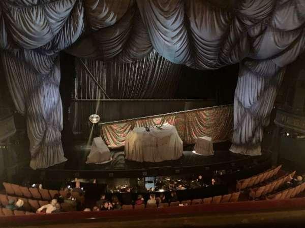 Majestic Theatre, secção: Front Mezzanine C, fila: A, lugar: 101