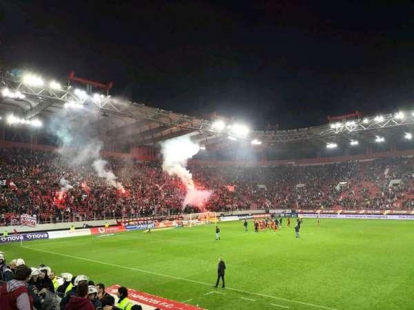 Karaiskakis Stadium, secção: VIPB, fila: 8, lugar: 40