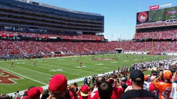 Levi's Stadium, secção: 122, fila: 16, lugar: 4