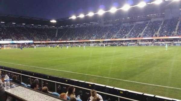 Avaya Stadium, secção: AS134B, fila: SRO, lugar: 6