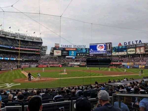 Yankee Stadium, secção: 118, fila: 4, lugar: 3