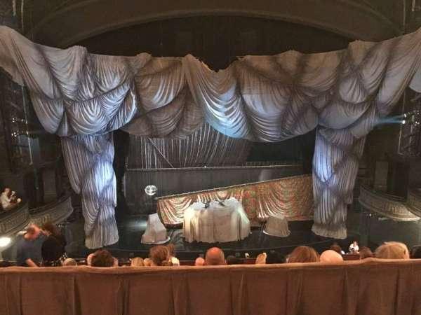 Majestic Theatre, secção: Rear Mezzanine LC, fila: A, lugar: 103