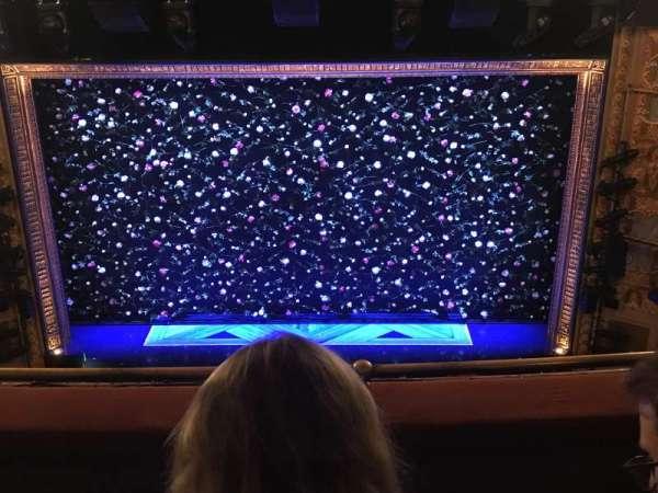 Longacre Theatre, secção: Balcony C, fila: C, lugar: 106