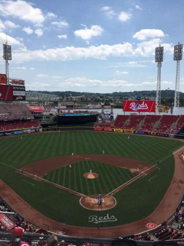 Great American Ball Park, secção: 523, fila: C, lugar: 16