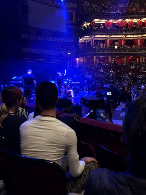 Royal Albert Hall, secção: G, fila: 3, lugar: 8
