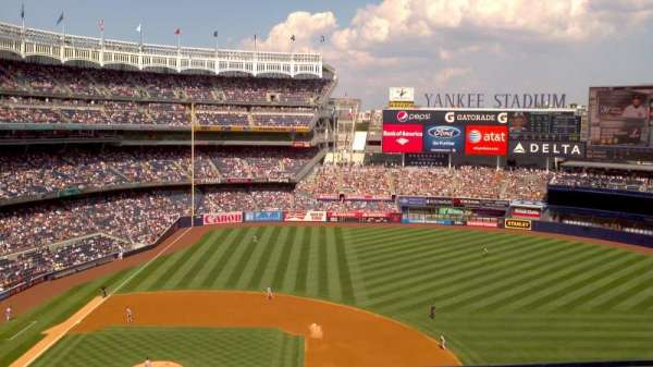 Yankee Stadium, secção: 315, fila: 2, lugar: 14