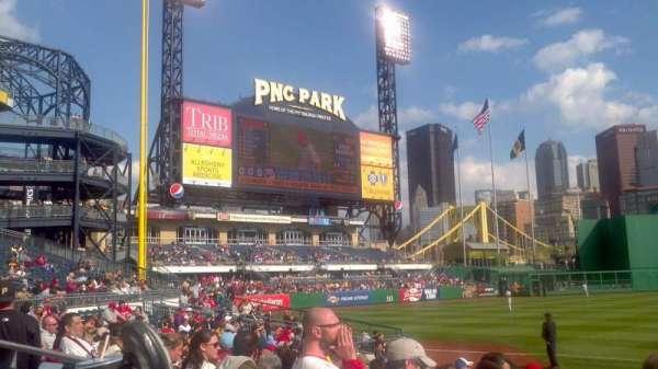 PNC Park, secção: 127, fila: A, lugar: 15