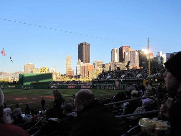 PNC Park, secção: 113, fila: F, lugar: 7