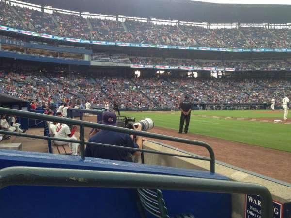 Turner Field, secção: 117r, fila: 2, lugar: 1