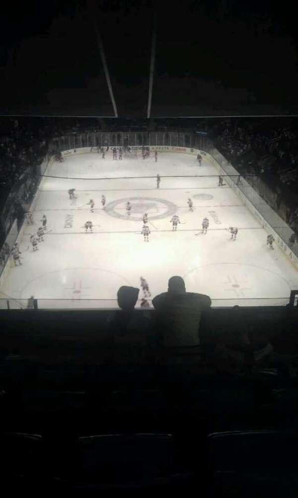 Madison Square Garden, secção: 415, fila: F, lugar: 20