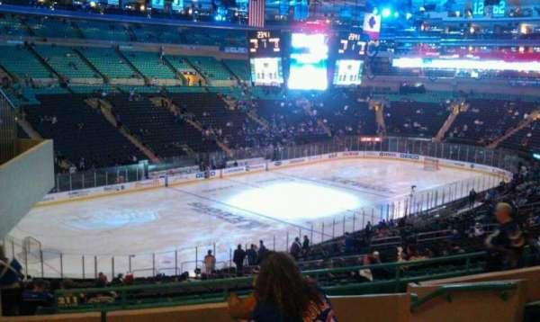 Madison Square Garden, secção: 316, fila: G, lugar: 3