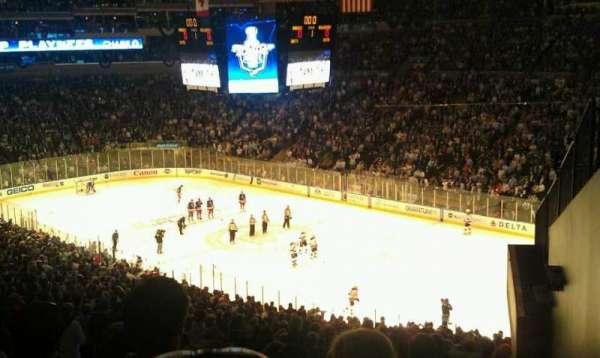 Madison Square Garden, secção: 328, fila: G, lugar: 7