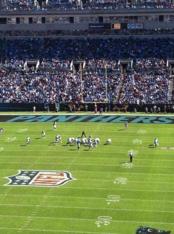 Bank of America Stadium, secção: 553, fila: J, lugar: 6