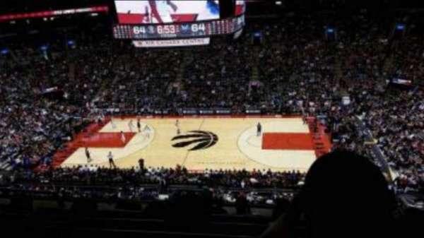 Scotiabank Arena, secção: 306, fila: 6, lugar: 19