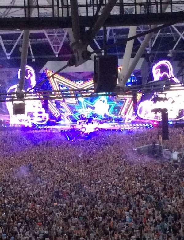 London Stadium, secção: 253, fila: 71, lugar: 787