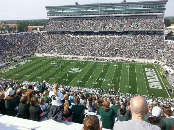 Spartan Stadium, secção: 106, fila: 31, lugar: 36